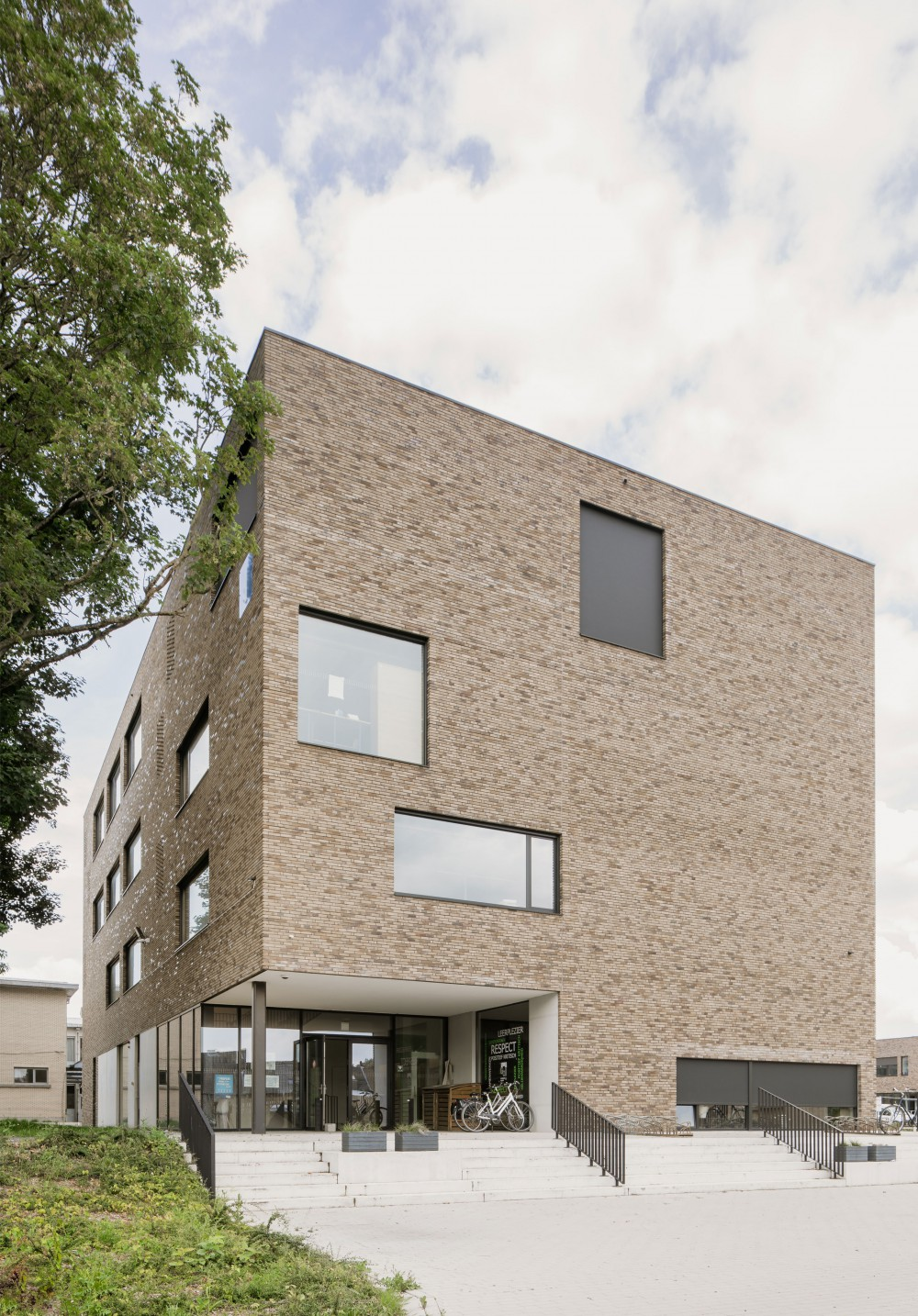 Abscis Architecten - atheneum: detached volume - photo Jeroen Verrecht