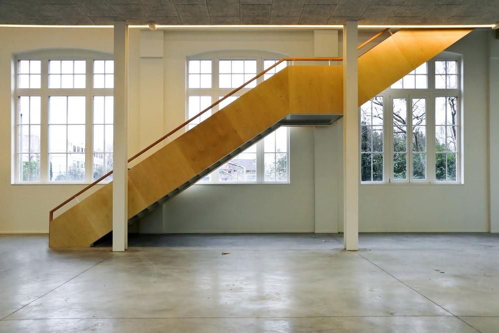 Abscis Architecten - trap refter - fotografie Abscis Architecten