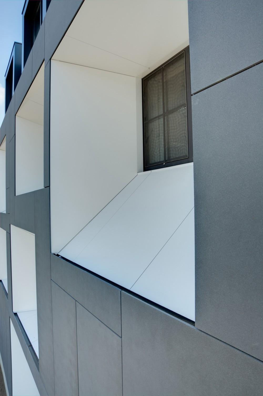 Abscis Architecten - Trechtervormige daglichtopeningen - fotografie Inge Claessens