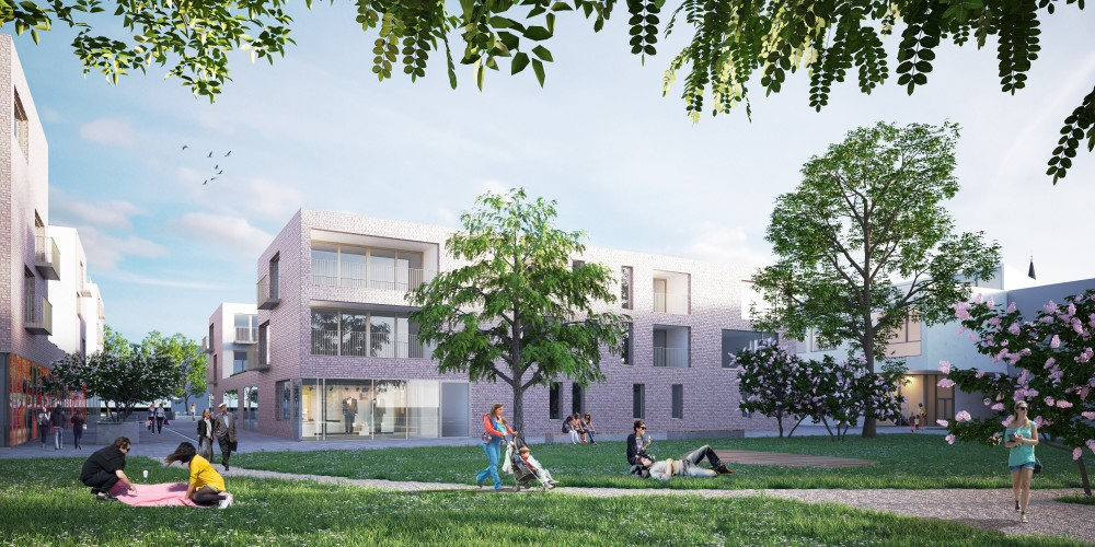 Abscis Architecten - schoolpark - visualisation Abscis Architecten