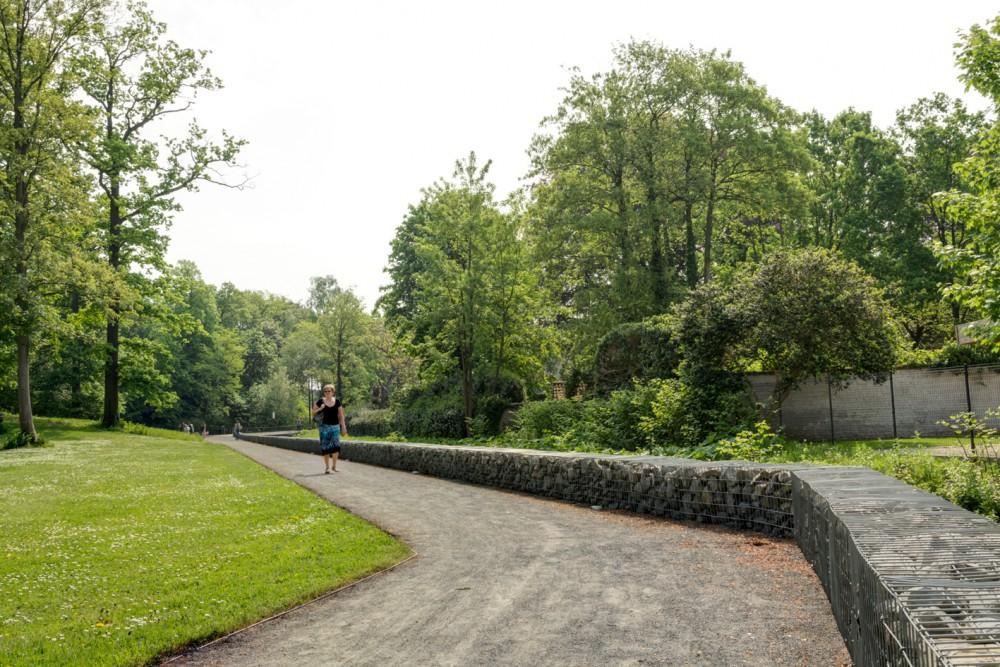 Abscis Architecten - nieuwe parkverbinding, wandel- en fietsverbinding - fotografie Inge Claessens