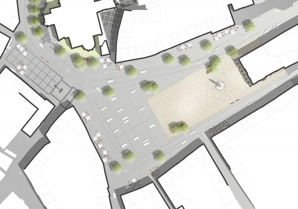 Abscis Architecten - inplantingsplan