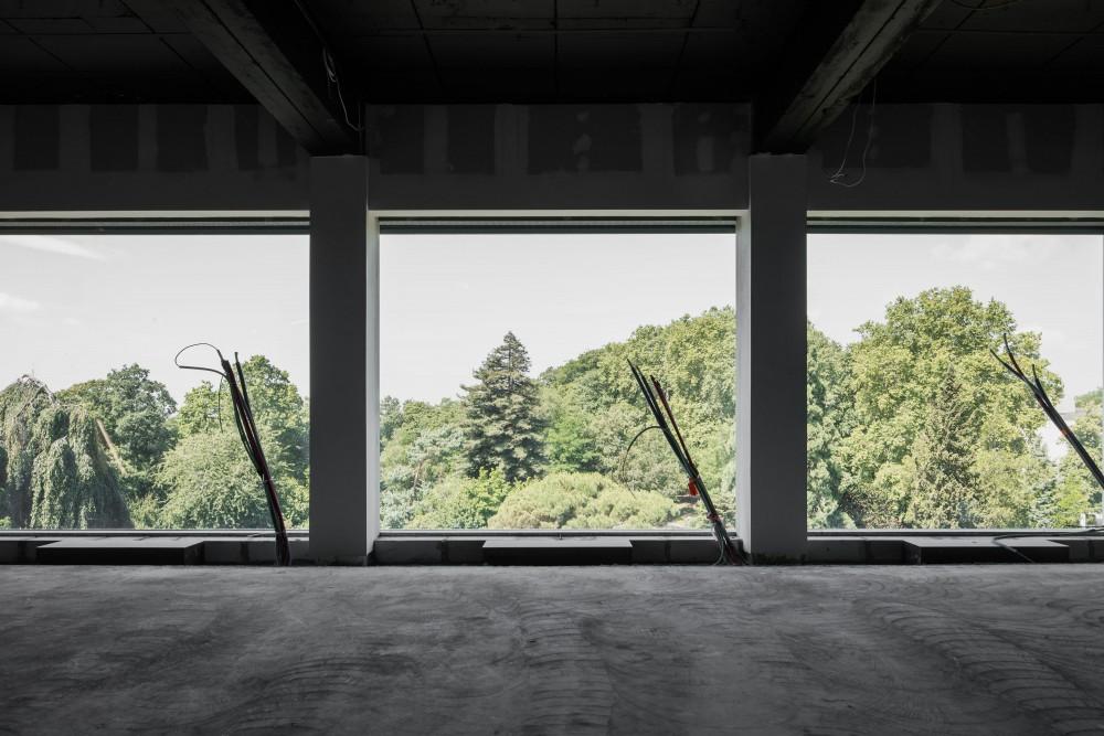 Abscis Architecten - uitzicht GUM in wording - foto Jeroen Verrecht