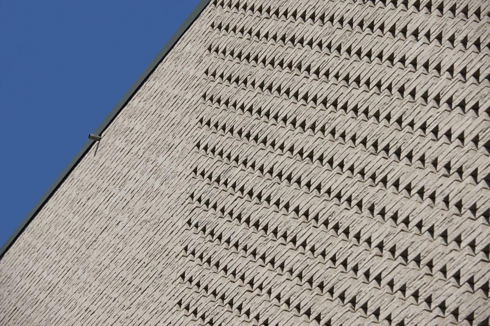 Abscis Architecten - Verbijzondering van het metselverband – fotografie Steven Massart