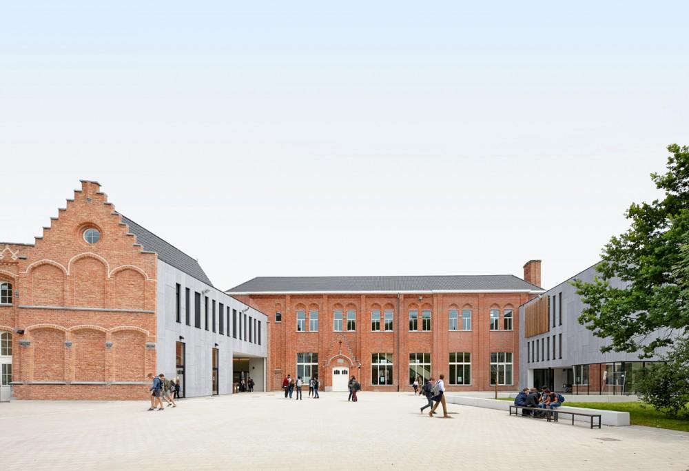 Abscis Architecten - gebouw derde graad - fotografie Dennis De Smet
