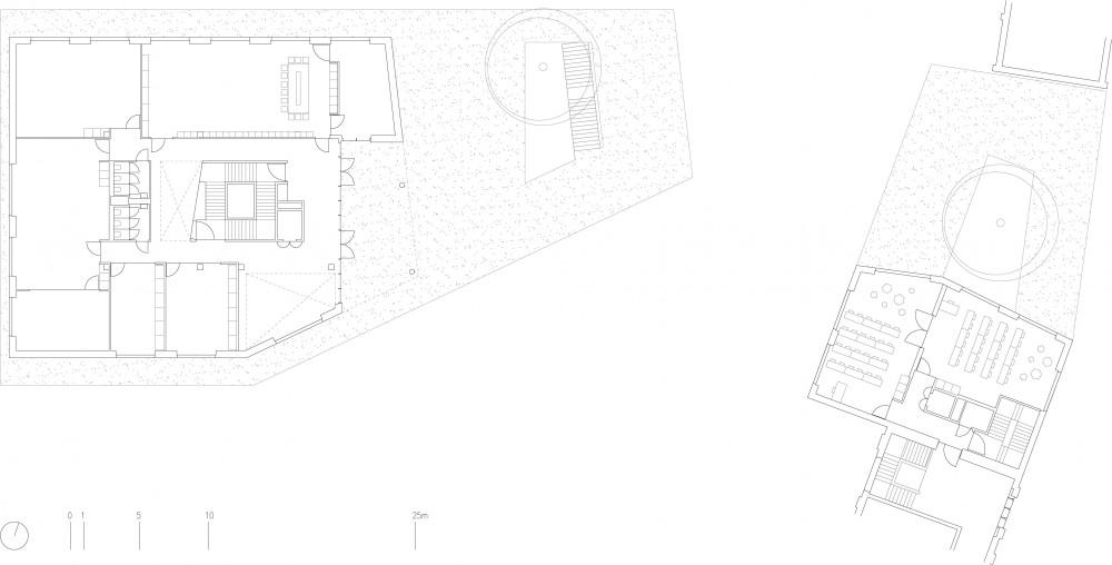 Abscis Architecten - floor plan first floor - Abscis Architecten