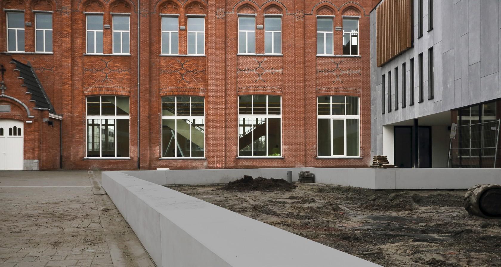 Abscis Architecten - Guldensporencollege Kortrijk - Campus Kaai