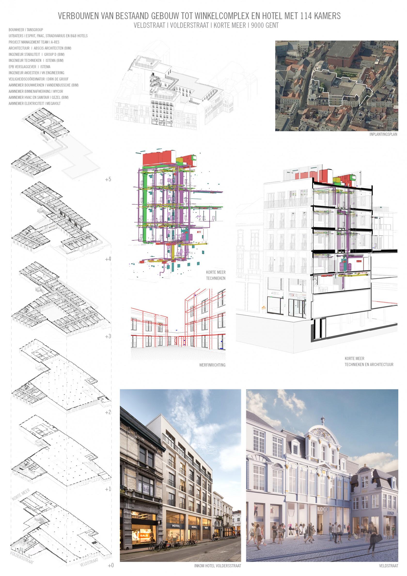 Abscis Architecten - presentatie Veldstraat