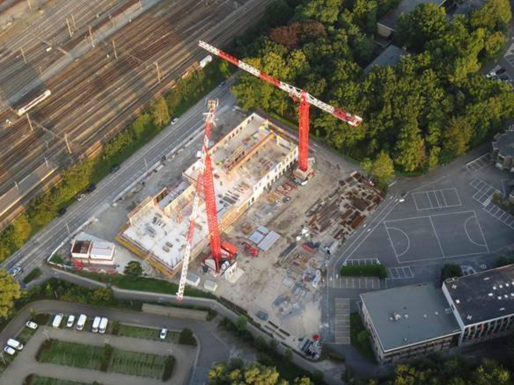 Abscis Architecten - KULAB in volle opbouw