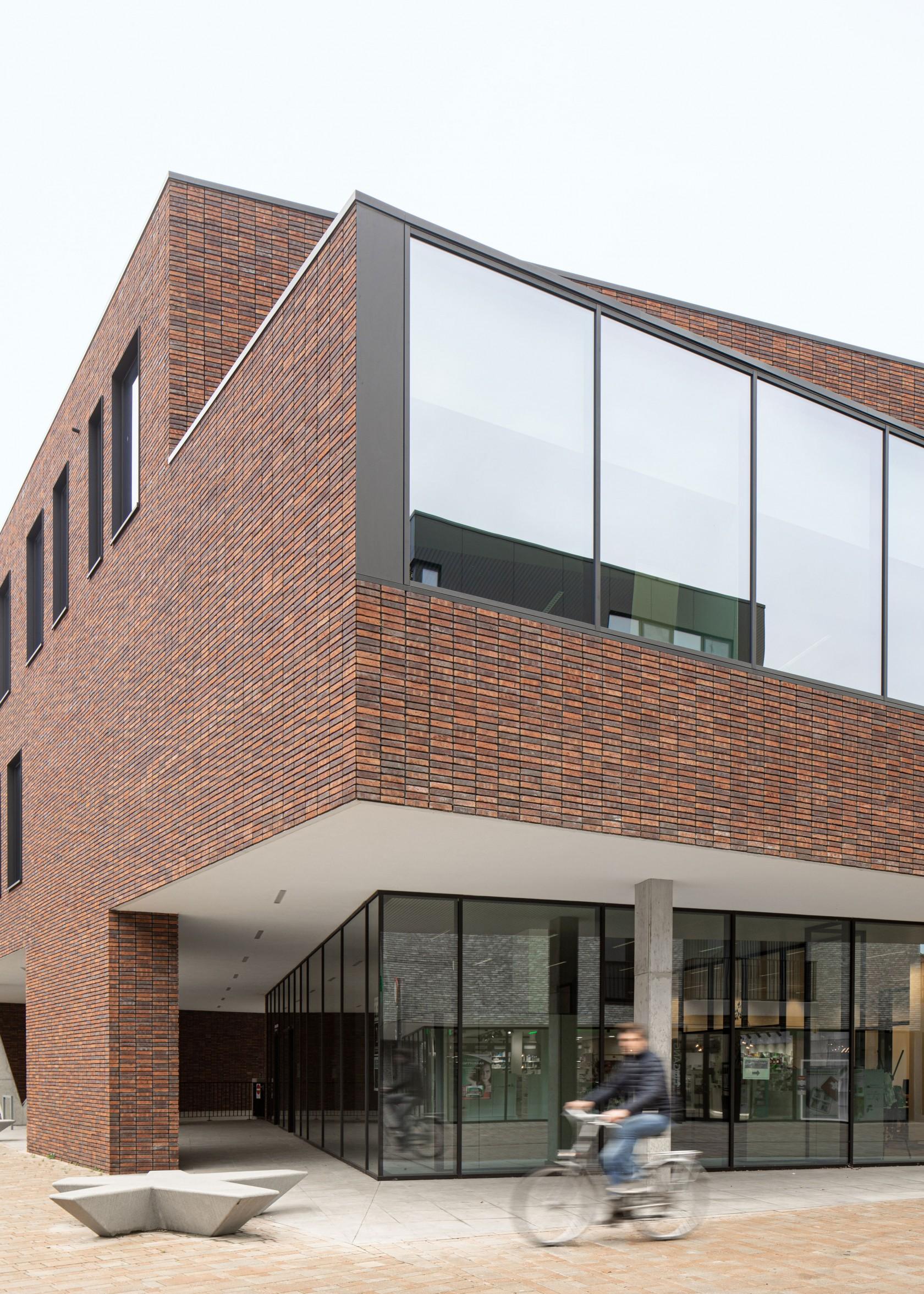 Abscis Architecten - nieuw administratief centrum – fotografie Jeroen Verrecht