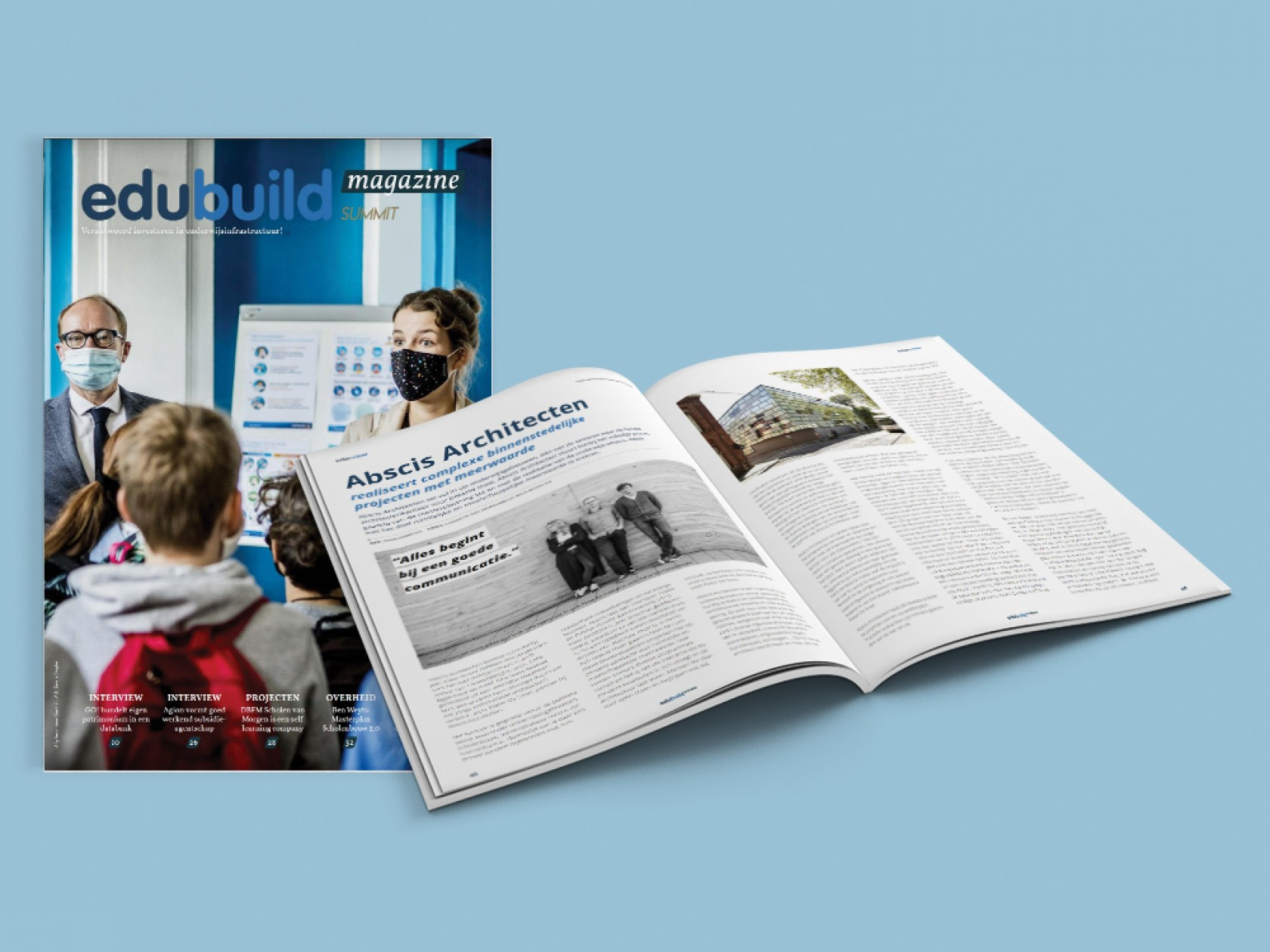 Abscis Architecten - EduBuild Summit Magazine