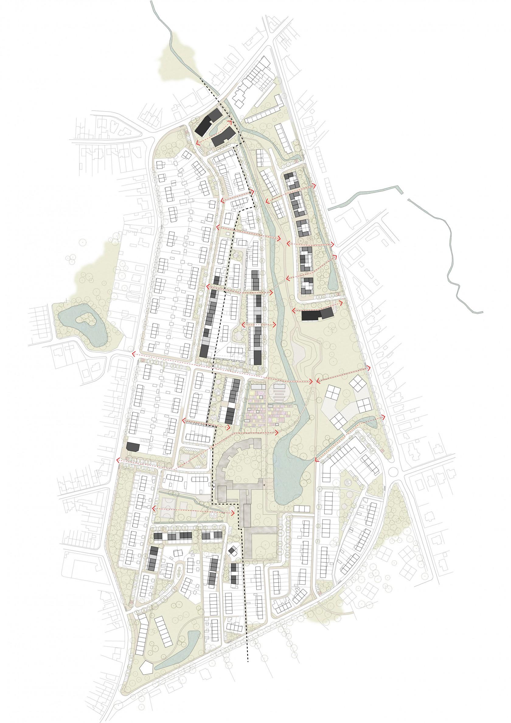 Abscis Architecten - overzichtsplan