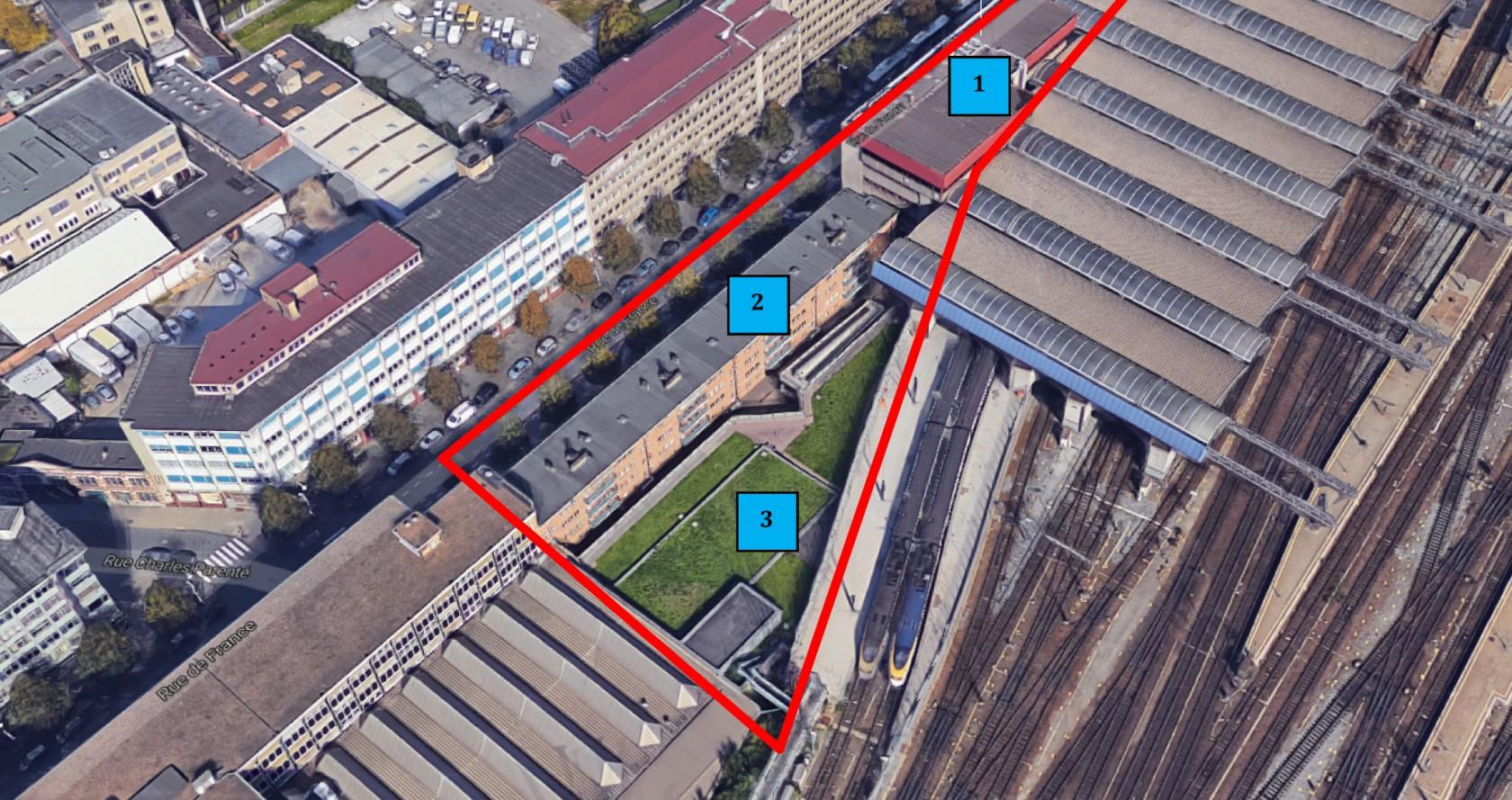 Abscis Architecten - projectsite Sint-Gillis