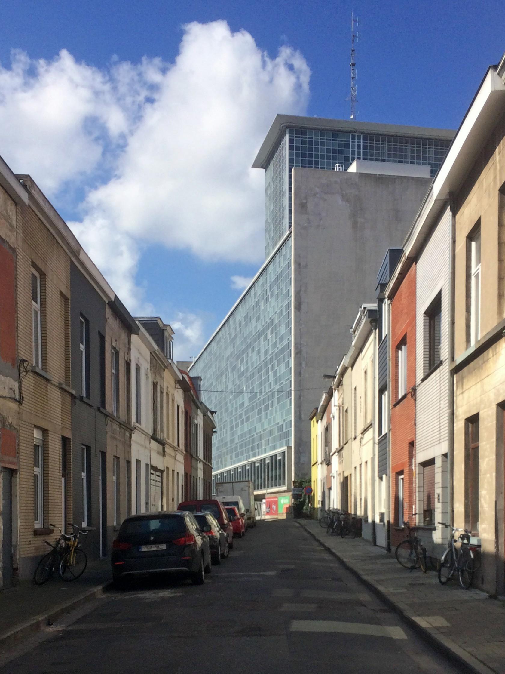 Abscis Architecten - Ledeganck fase II - zuidvleugel