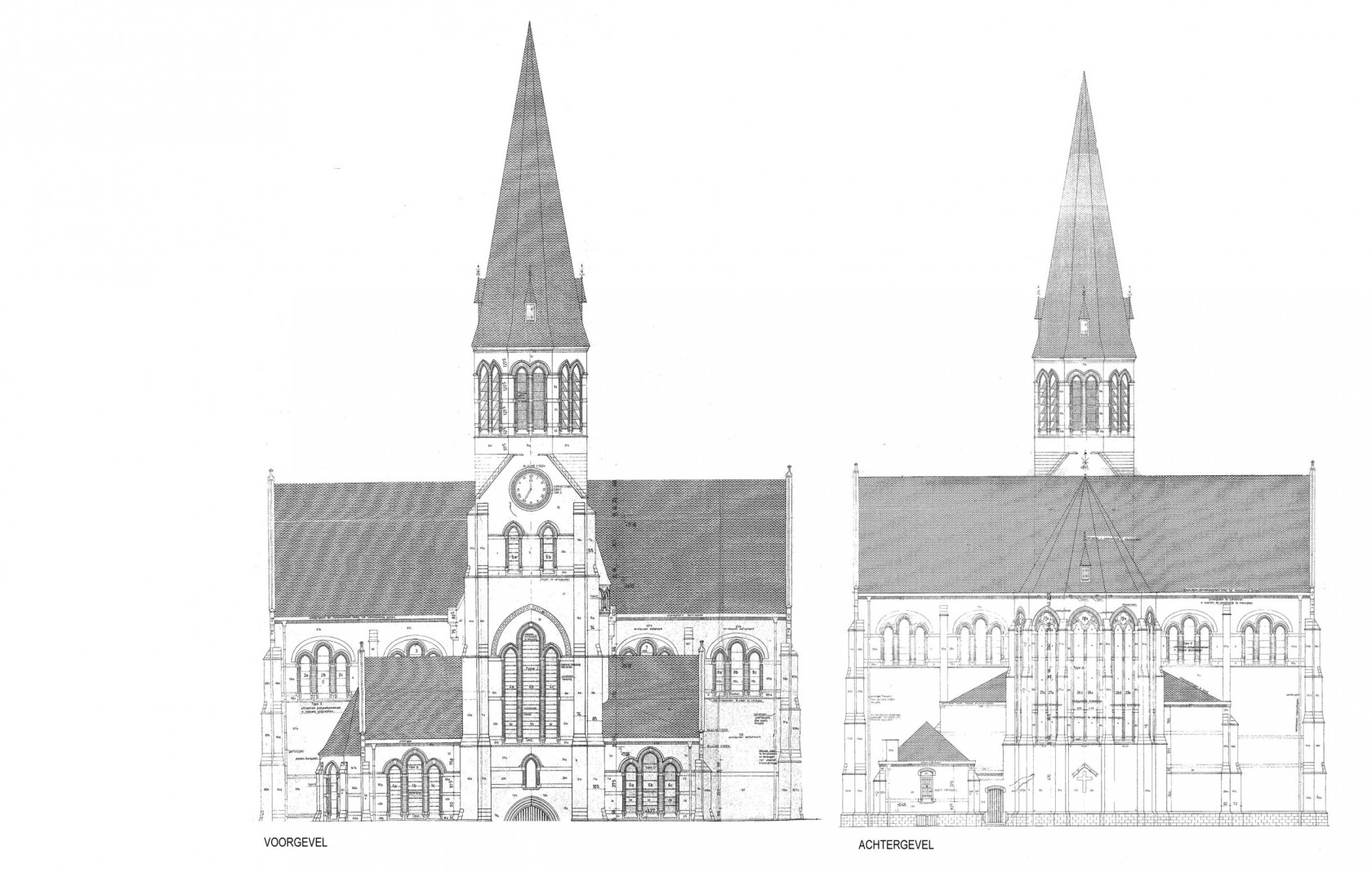 Abscis Architecten - Kerk van Pamel krijgt wellicht nieuwe functie