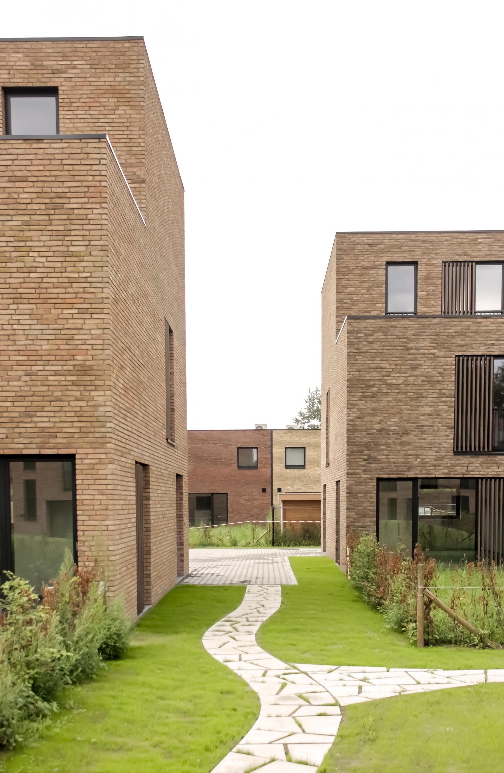 Abscis Architecten - omarmde binnengebied - fotografie Eline Willaert
