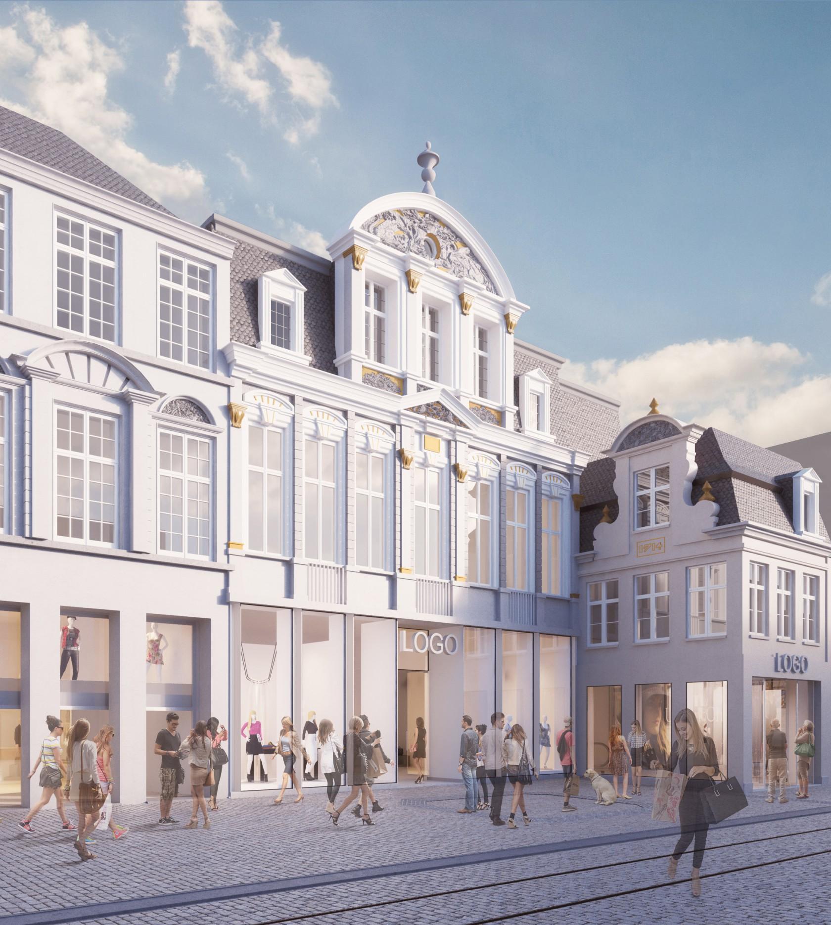 Abscis Architecten - nieuwe gevel Veldstraat