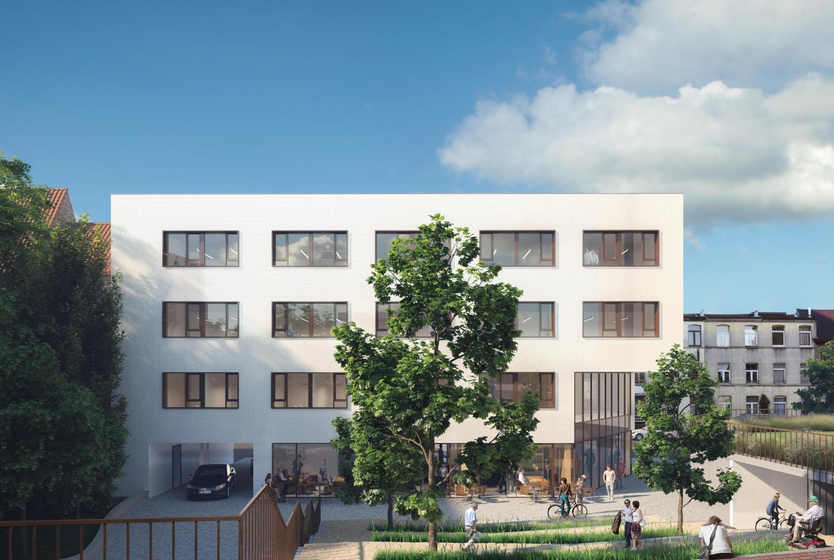 Abscis Architecten - Nieuwe publieke ruimte - visualisatie ARCHITENKO