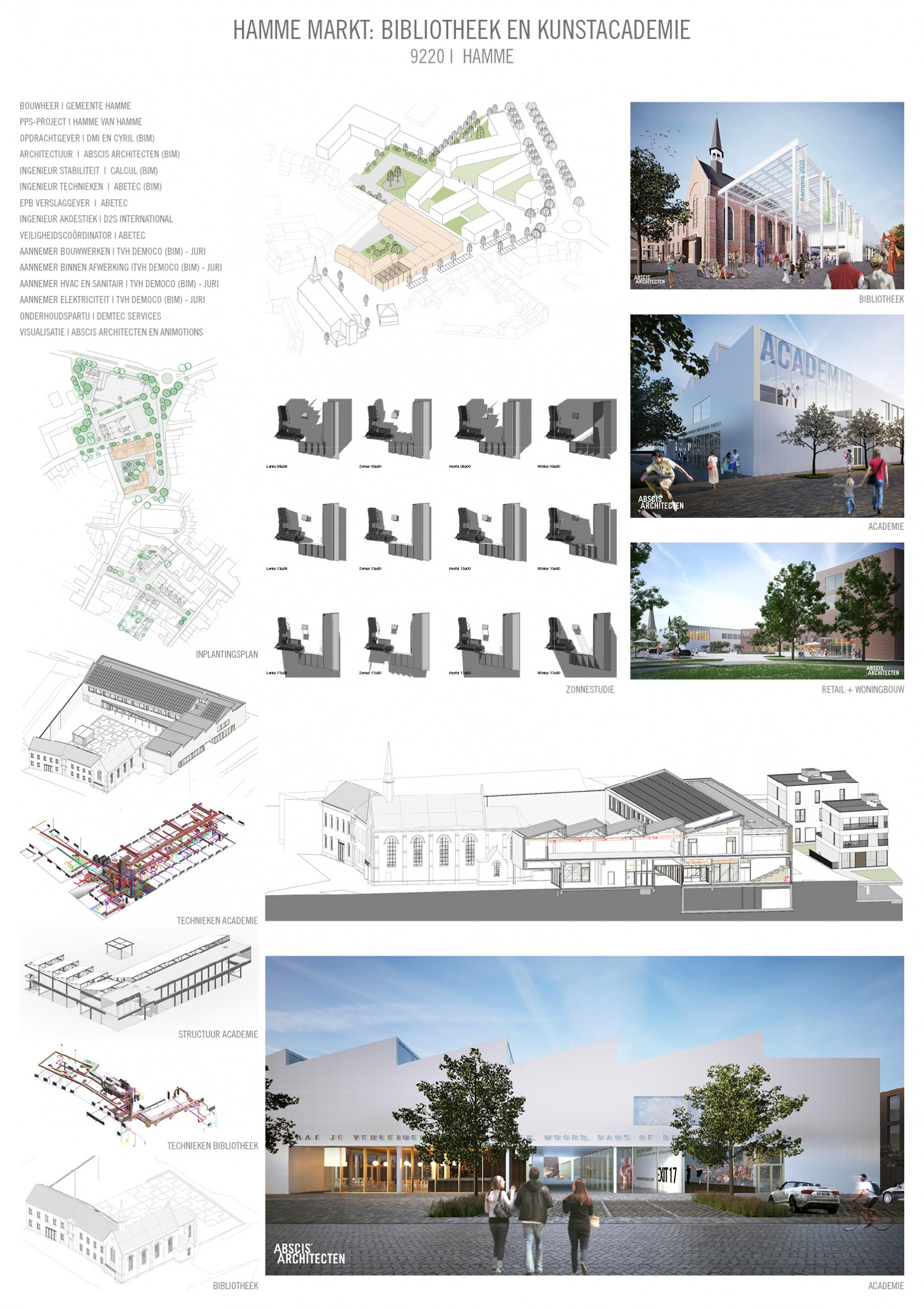 Abscis Architecten - presentatie Hamme