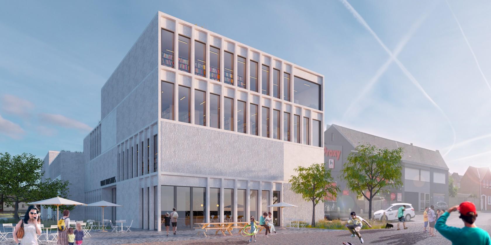 Abscis Architecten - visualisatie vrijetijdshuis