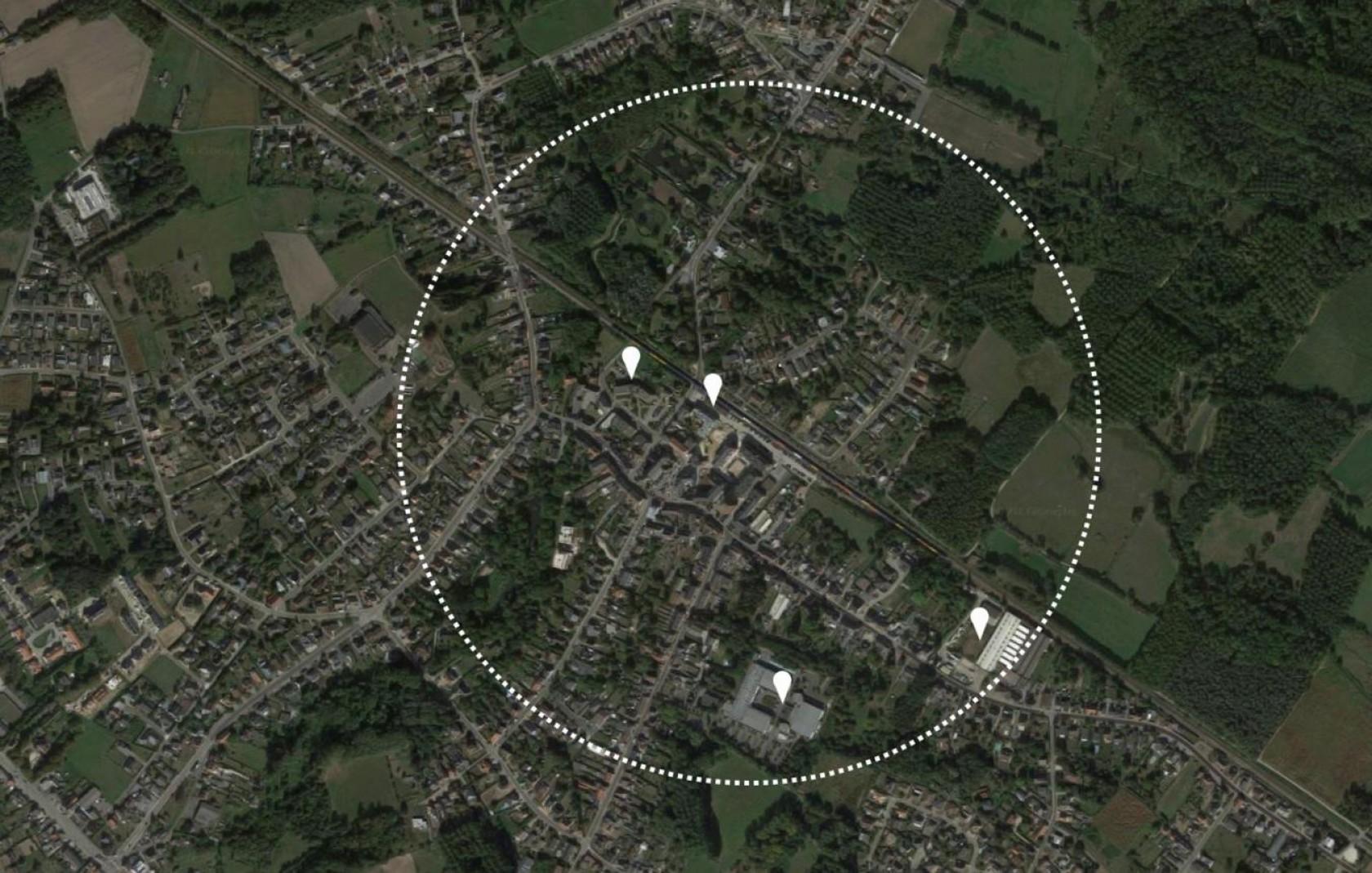 Abscis Architecten - locatieplan centrum Boortmeerbeek - beeld (c) Team Vlaams Bouwmeester