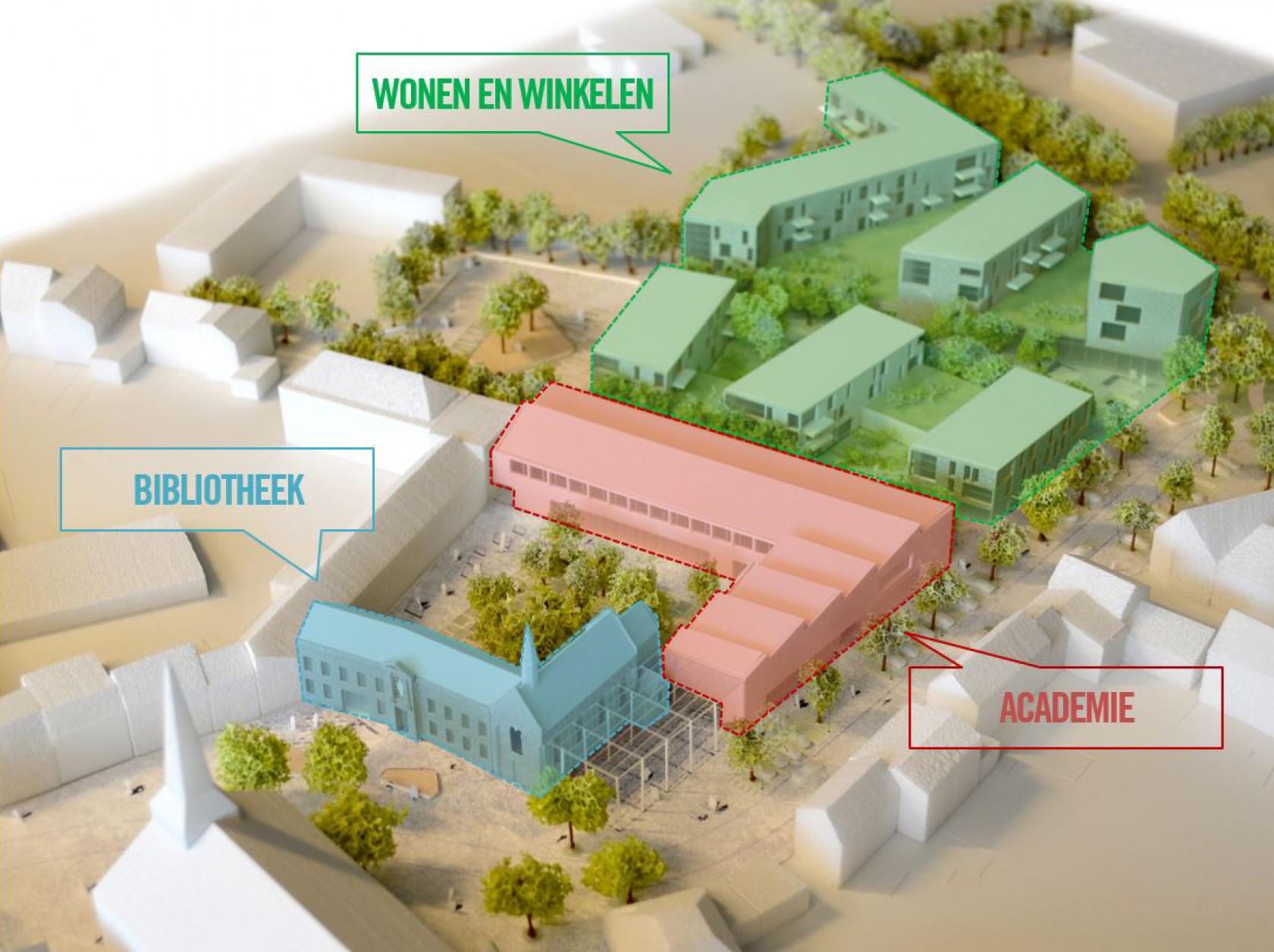 Abscis Architecten - Een creatieve campus voor Hamme