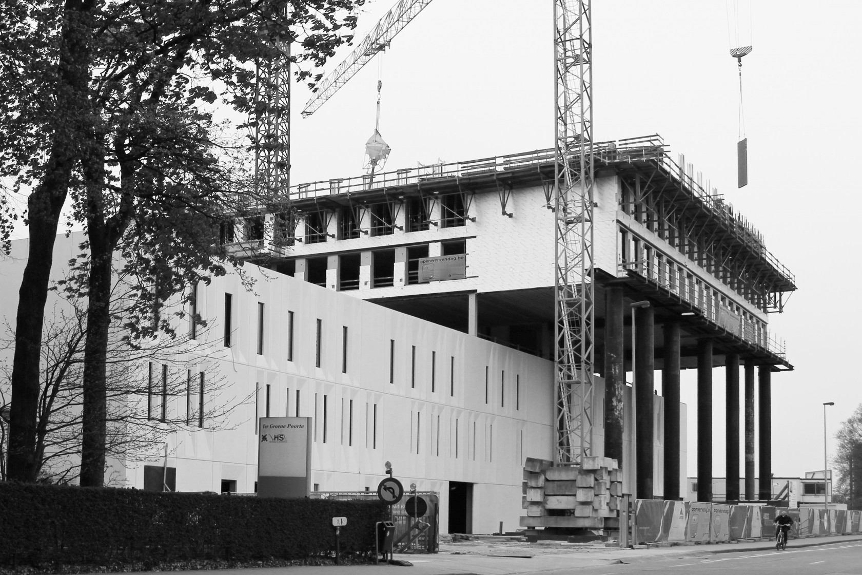 Abscis Architecten - Werf faculteit industriële en biowetenschappen Brugge