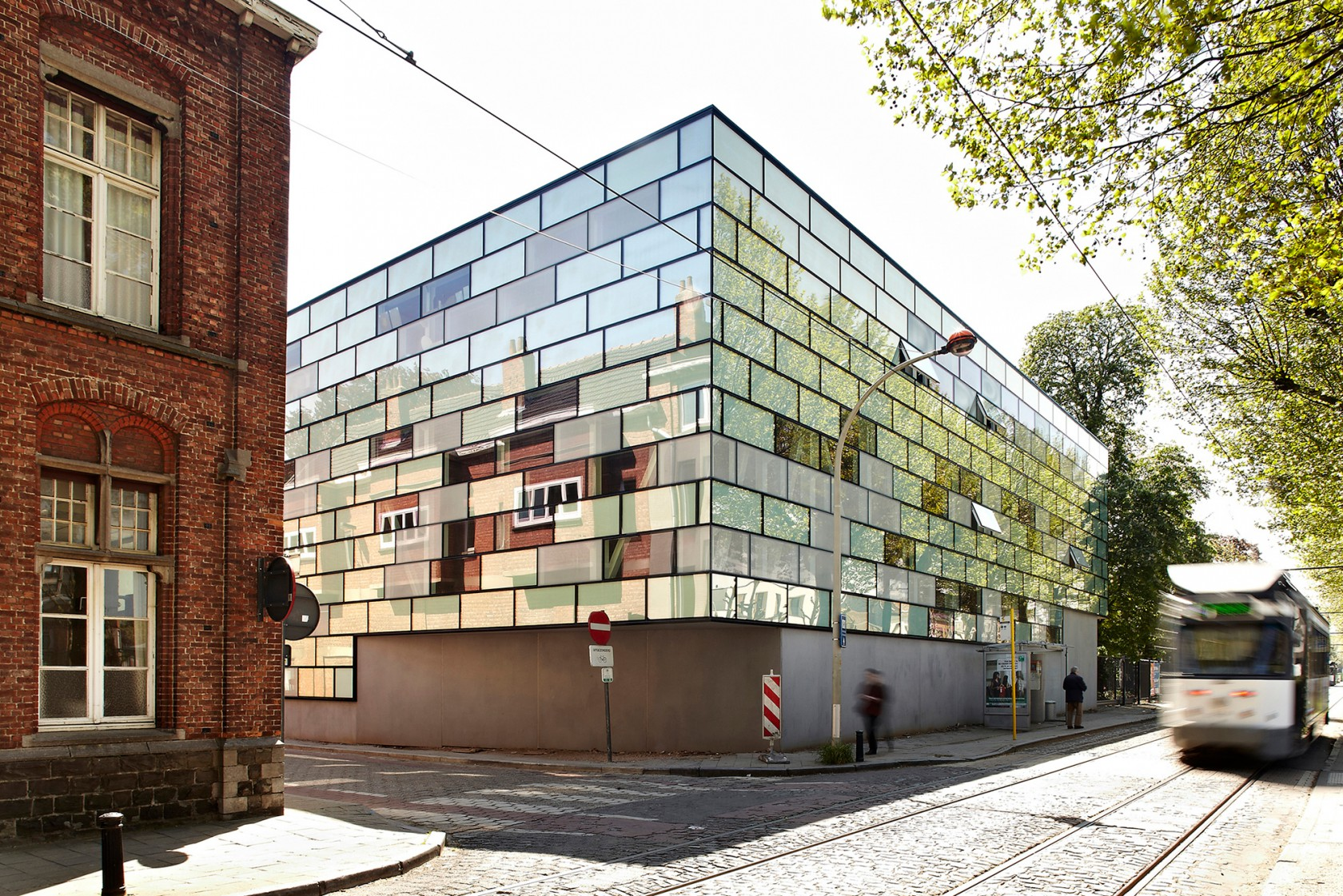 Abscis Architecten - Zicht vanop de Coupure – fotografie Steven Neyrinck