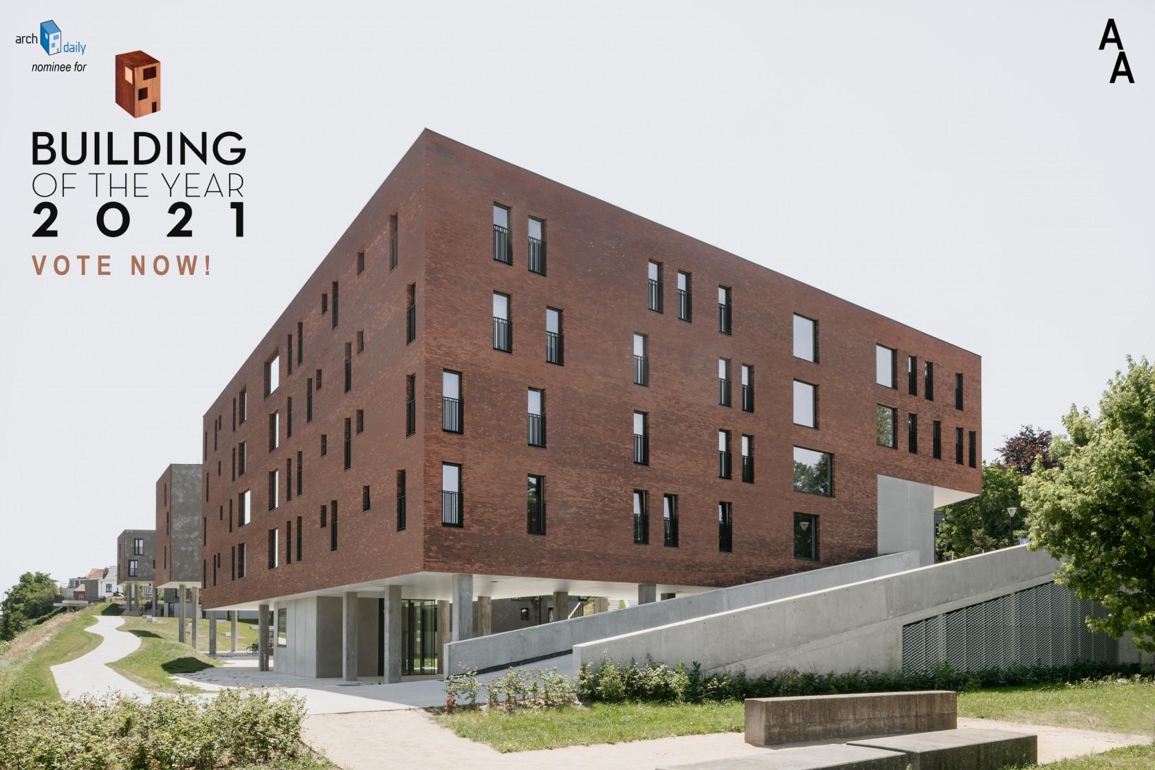 Abscis Architecten - Klein Rijsel, Leuven - Building of the Year 2021 ArchDaily - vote now!