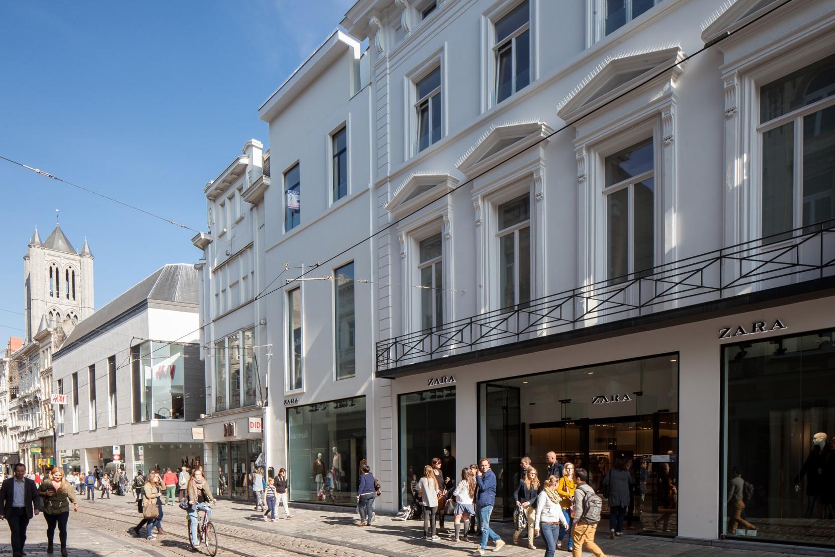 Abscis Architecten - Gevel Veldstraat – fotografie Thomas De Bruyne