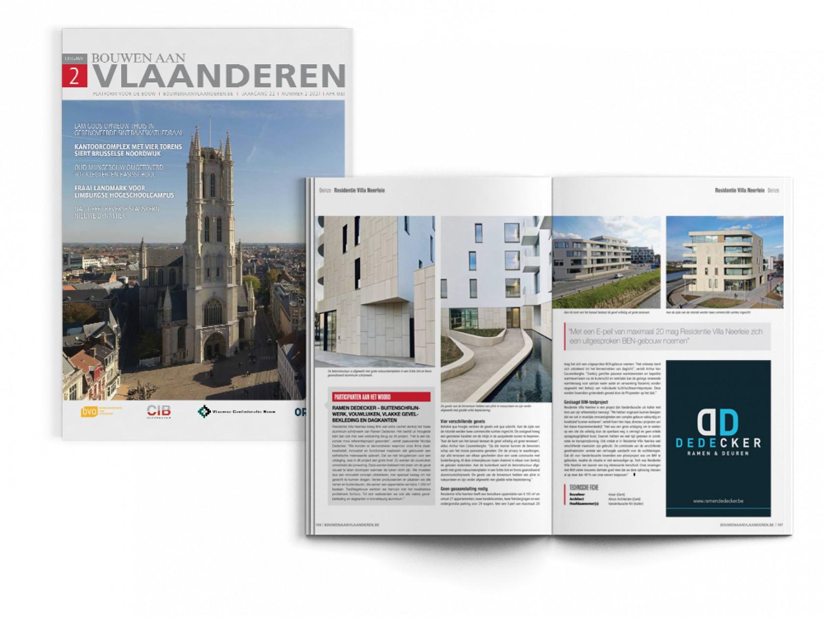 Abscis Architecten - Bouwen aan Vlaanderen NR.2 2021