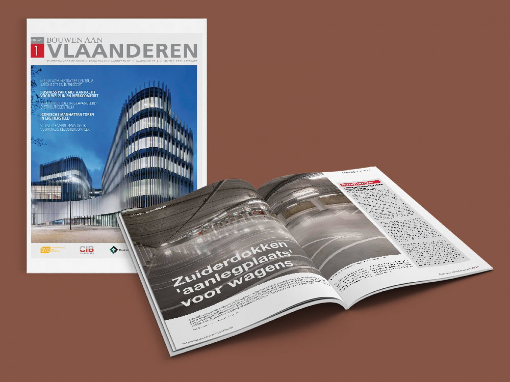 Abscis Architecten - Bouwen aan Vlaanderen NR 01 2021