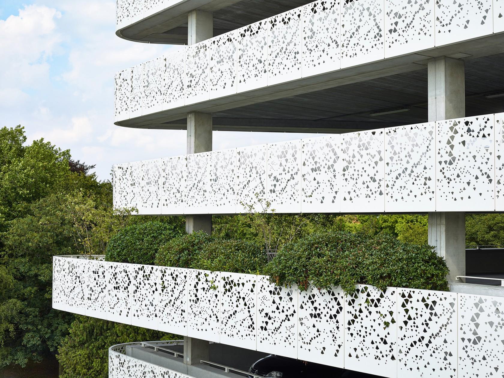 Abscis Architecten - Integration of the green - photography Dennis De Smet
