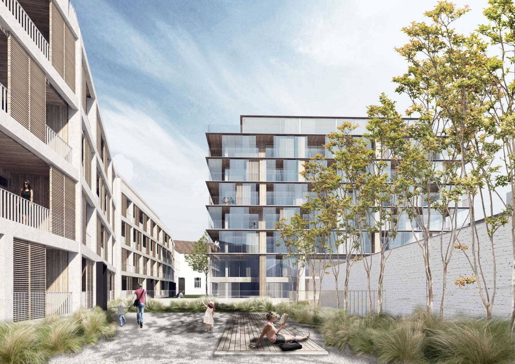 Abscis Architecten - Nieuwe stedelijkheid = compacte, groene en intense stad