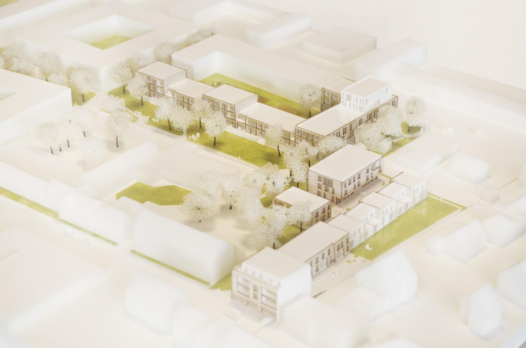 Abscis Architecten - maquette door iMake