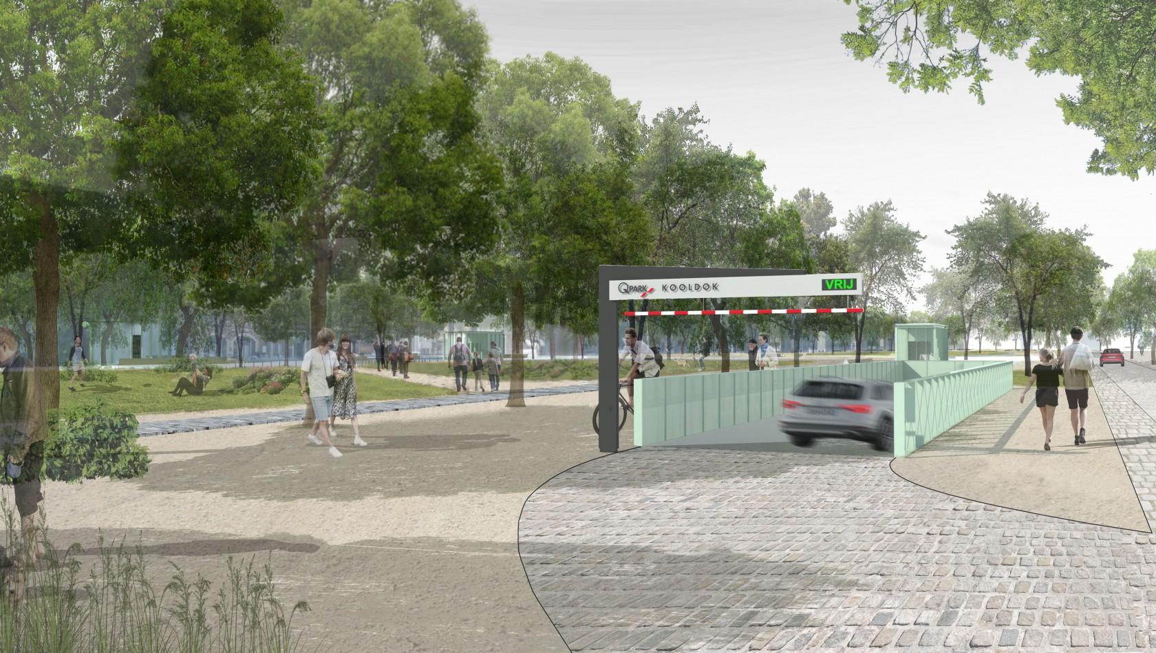 Abscis Architecten - Parking Zuiderdokken Antwerpen