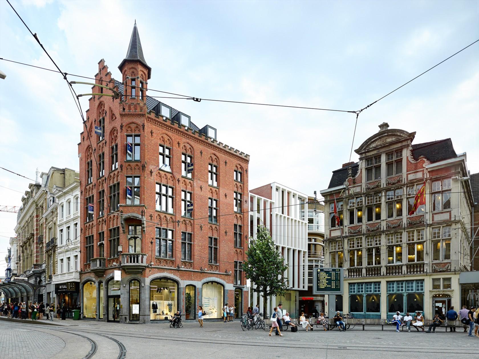 Abscis Architecten - Hedendaags omgaan met erfgoed