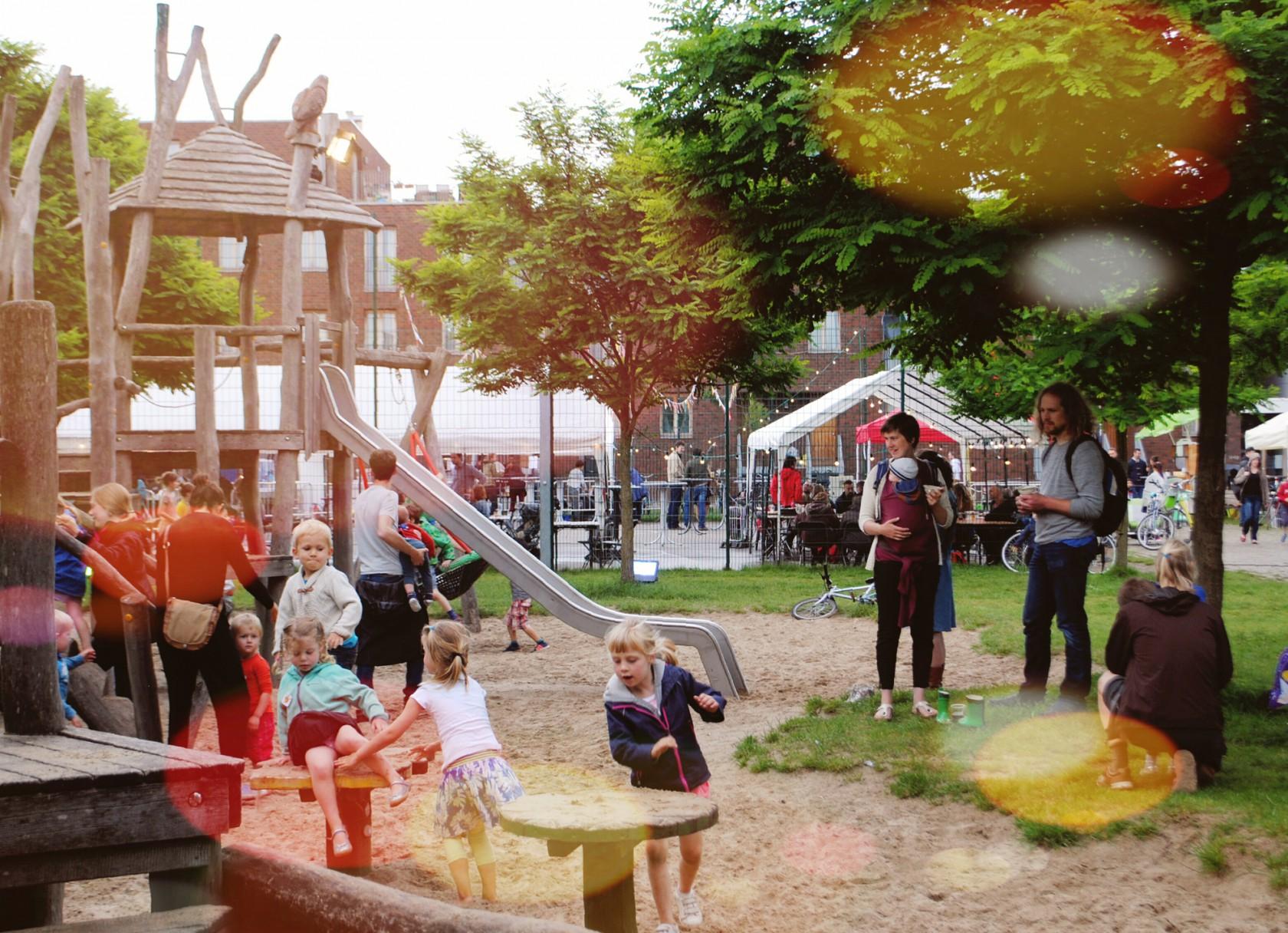 Abscis Architecten - Acaciapark Gent