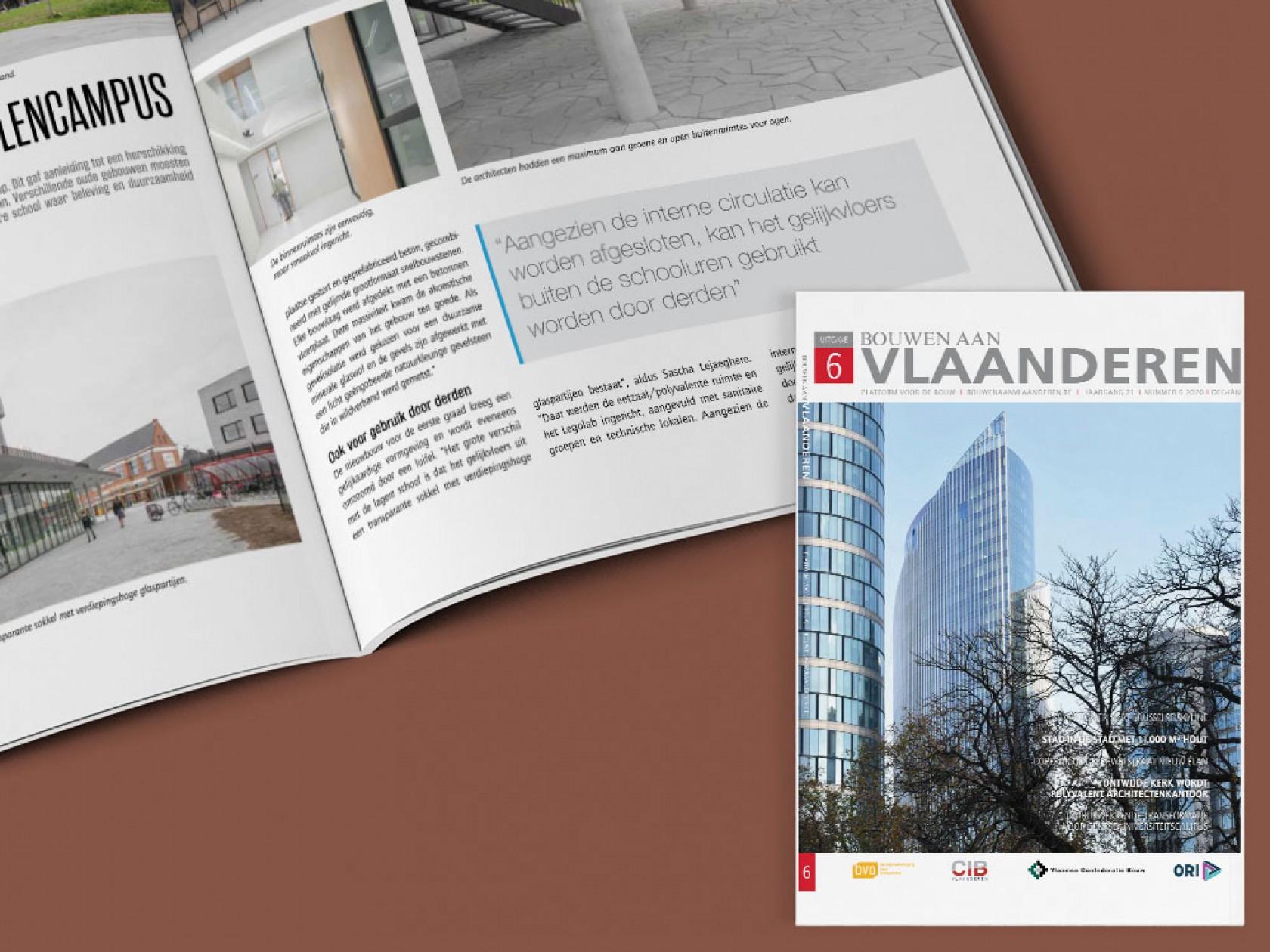 Abscis Architecten - Bouwen aan Vlaanderen NR 06 2020