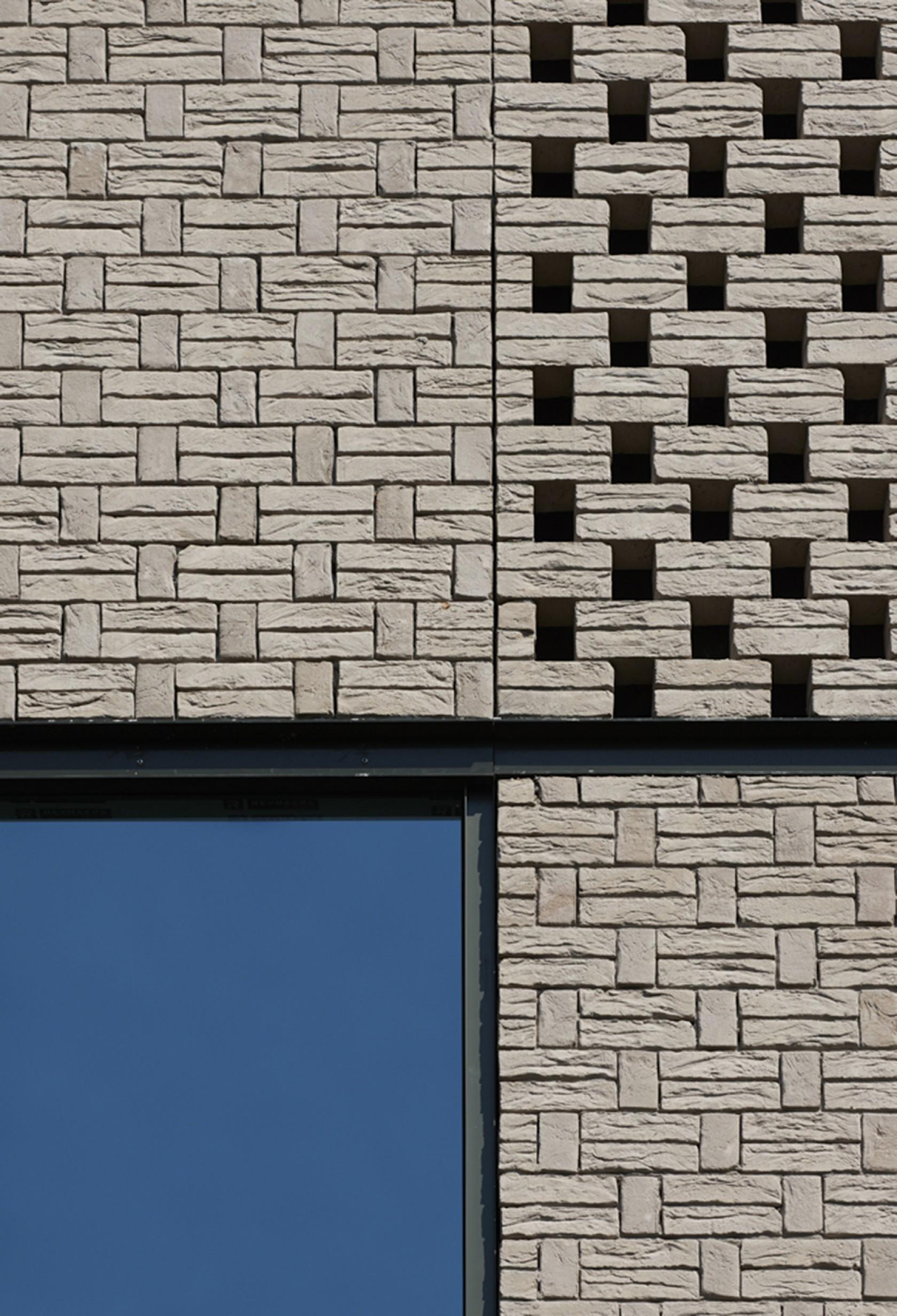 Abscis Architecten - Drie variaties op één metselverband – fotografie Steven Massart