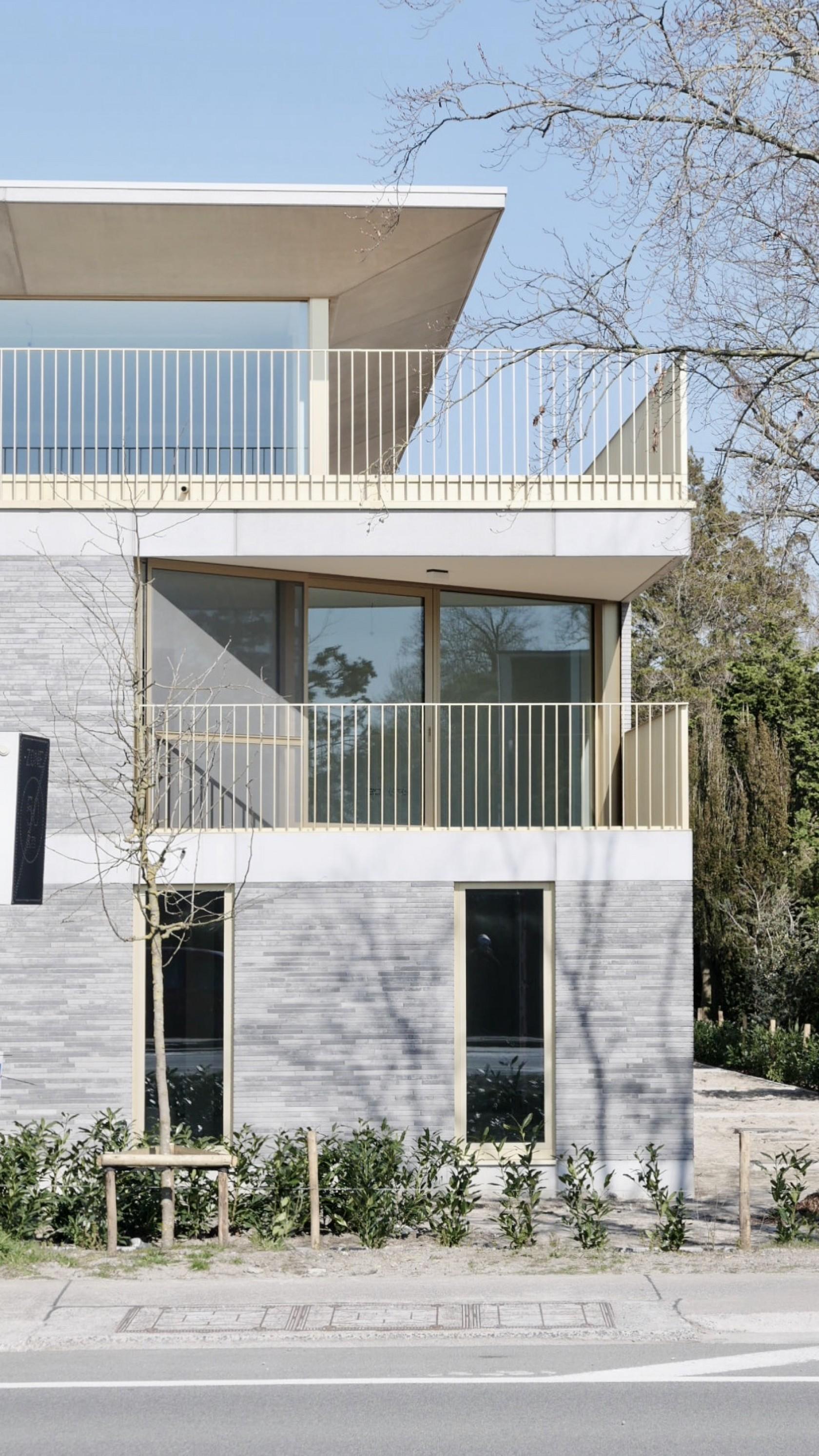 Abscis Architecten - Ankersmit - frontaal vooraanzicht