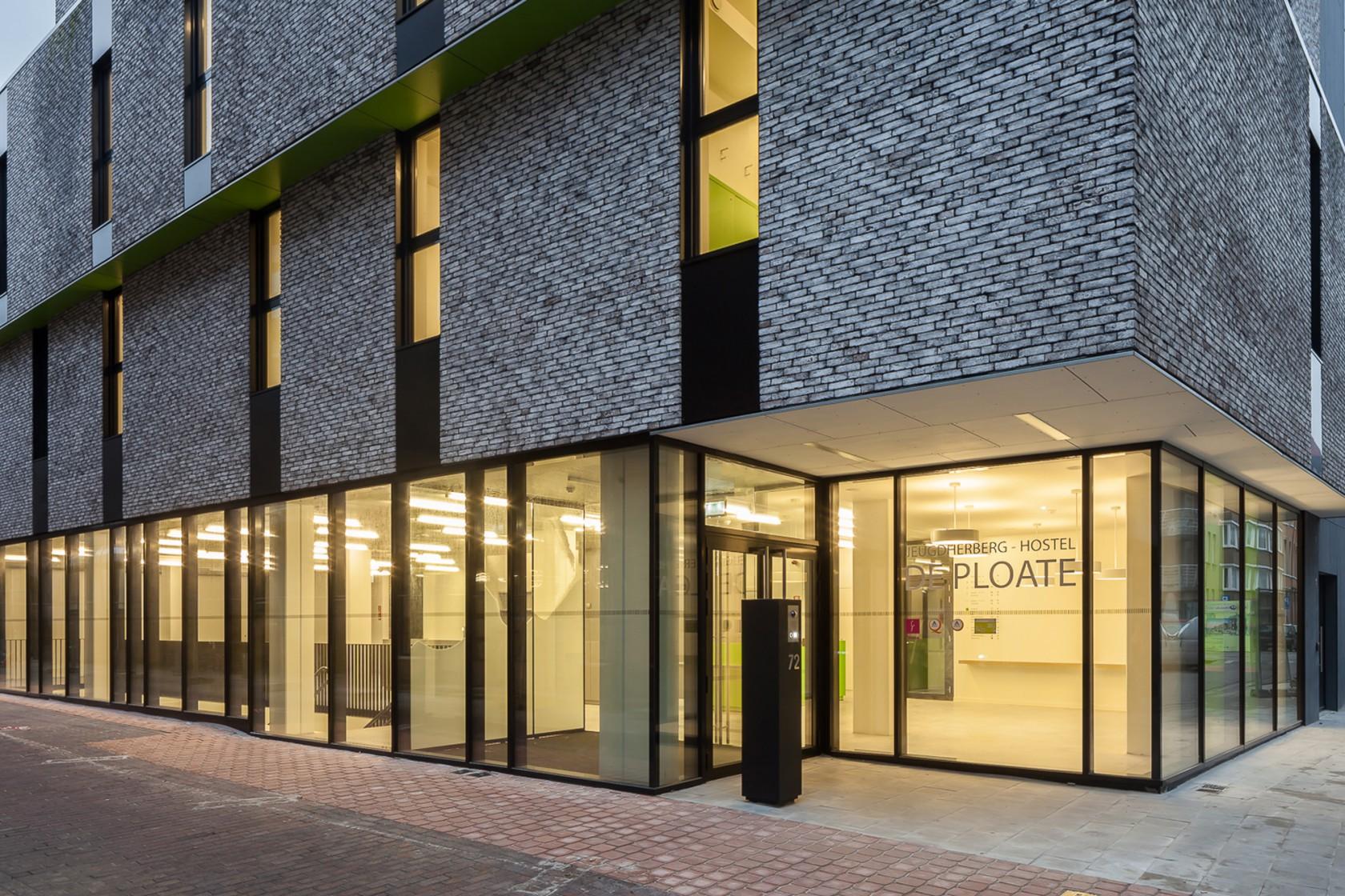Abscis Architecten - Transparante multifunctionele gelijkvloerse ruimte – fotografie Cafeine