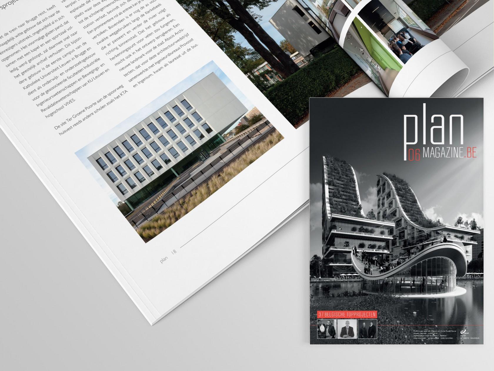 Abscis Architecten - PLAN 06 - Een pioniersproject om meerdere redenen