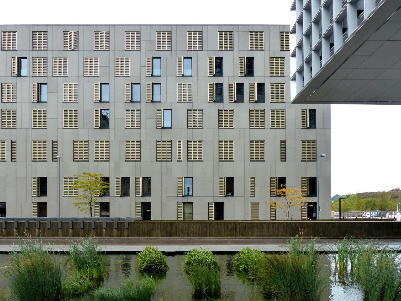 Abscis Architecten - south facade
