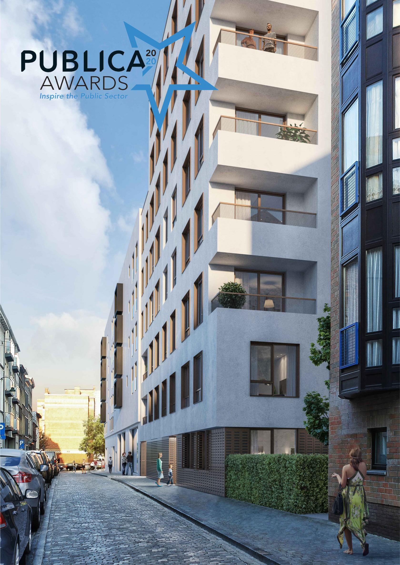 Abscis Architecten - Menslievendheidsstraat - visualisatie Team HENK - NOMINATIE PUBLICA AWARD 2020!