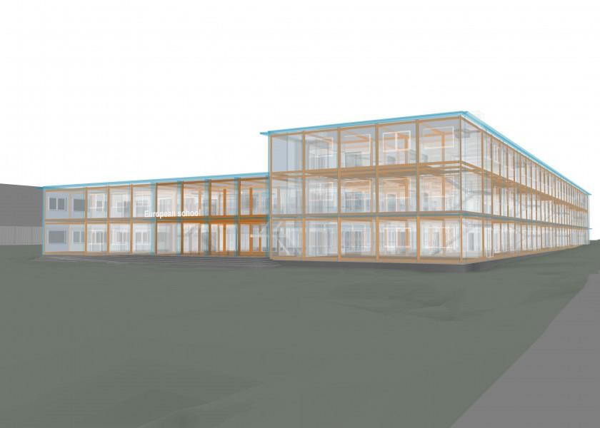 Abscis Architecten - 4D BIM-model dat een extreem kort en efficiënt bouwproces faciliteert