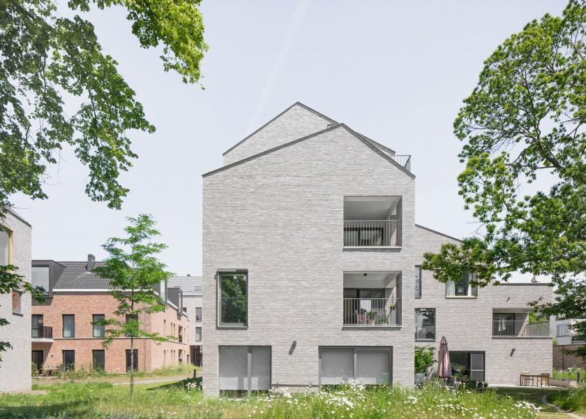 Abscis Architecten - gemengd woonproject Theresianenklooster Aalst - foto Jeroen Verrecht