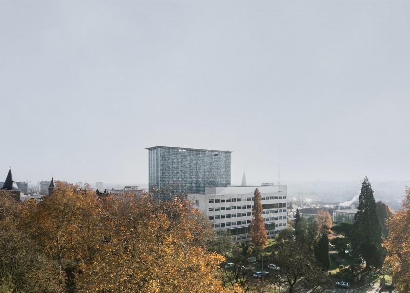 Abscis Architecten - hoogbouw campus Ledeganck, UGent - foto Jeroen Verrecht