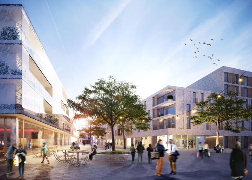 Abscis Architecten - PPS standsvernieuwingsproject Tielt - niet weerhouden wedstrijdontwerp