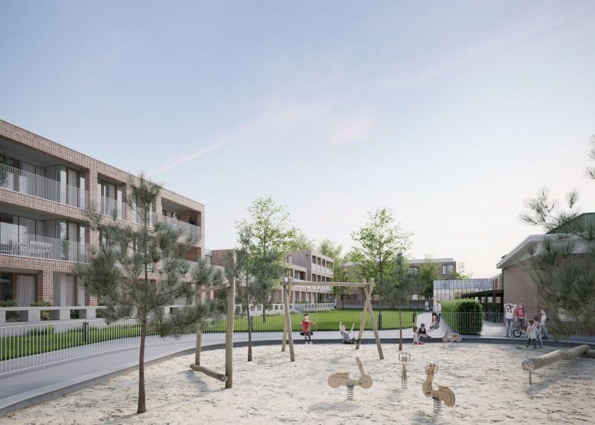 Abscis Architecten - buurtversterkend PPS-project Mudakkers in Lommel